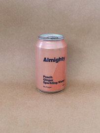 ALMIGHTY PEACH & GINGER WATER