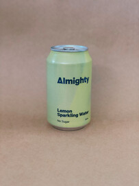 ALMIGHTY LEMON SPARKLING WATER