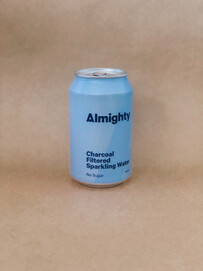 ALMIGHTY CHARCOAL SPARKLING WATER